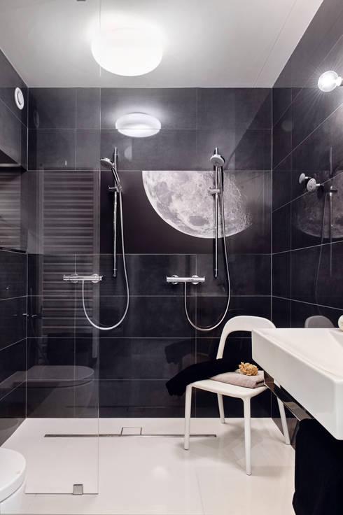 Apartament w Gdyni 2012: styl , w kategorii Łazienka zaprojektowany przez formativ. indywidualne projekty wnętrz