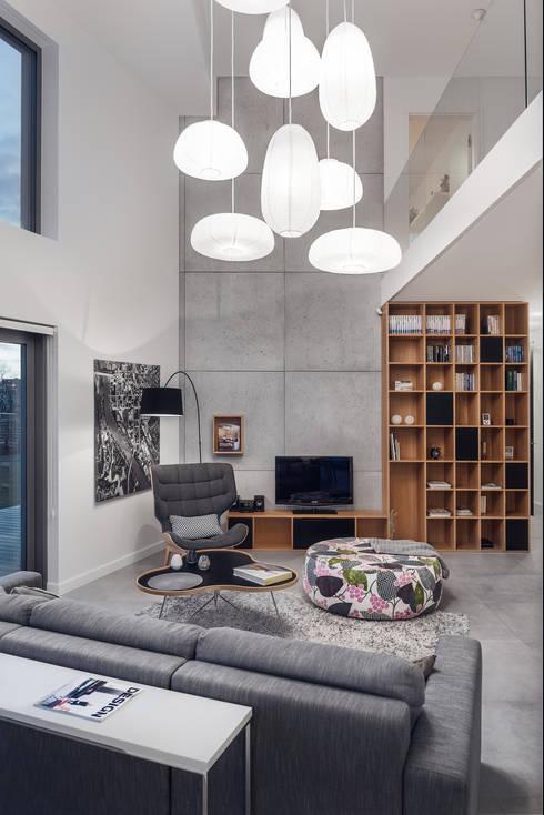 Dom prywatny 2014: styl , w kategorii Salon zaprojektowany przez formativ. indywidualne projekty wnętrz