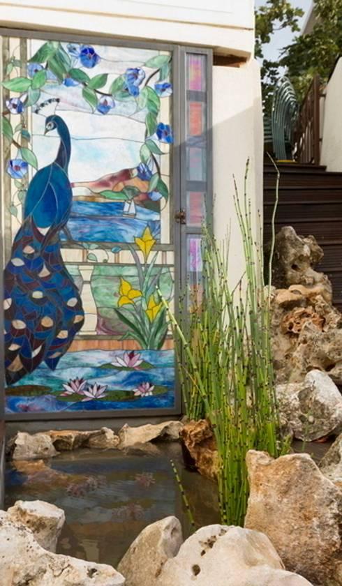 corniche : Jardin de style  par JUNGLE ART