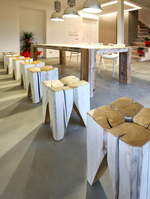 Trepuntozero studio di Architettura e Design의  서재/사무실