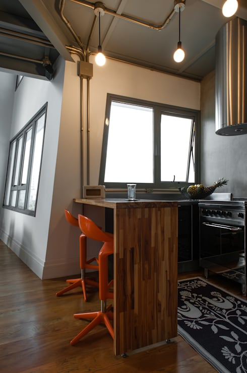 Aimbere: Cozinhas industriais por PM Arquitetura