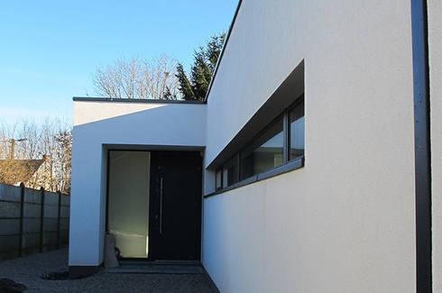Maison passive en Brabant Wallon par dune Architecture sprl   homify