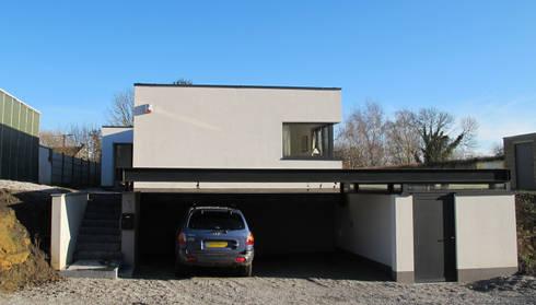 Maison passive en Brabant Wallon par dune Architecture sprl | homify