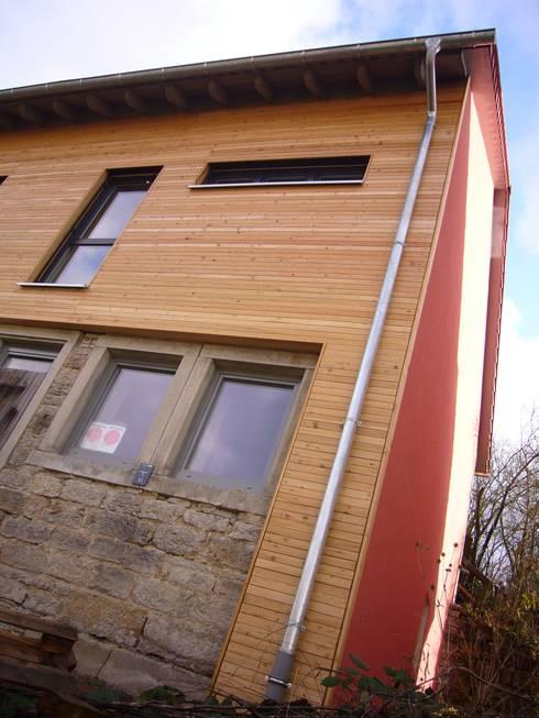 Außenansicht:  Häuser von ZIKESCH | architekten und ingenieure