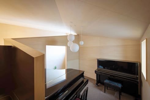 PIANO HOUSE K.448: NI&Co. Architects 一級建築士事務所が手掛けたガレージです。