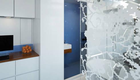 Pied a L' eau: moderne Badkamer door M&M Watervilla