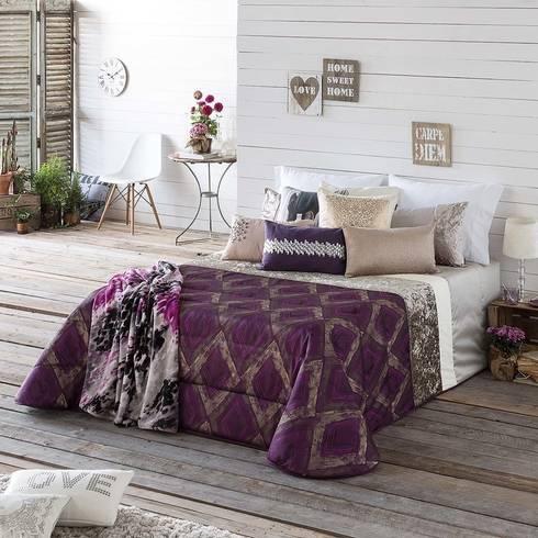 .: Dormitorios de estilo  de Dontextil.com