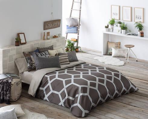 .: Dormitorios de estilo rústico de Dontextil.com
