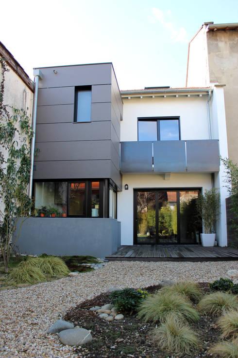 r novation d 39 une maison toulouse par atelier d 39 architecture pilon georges homify. Black Bedroom Furniture Sets. Home Design Ideas