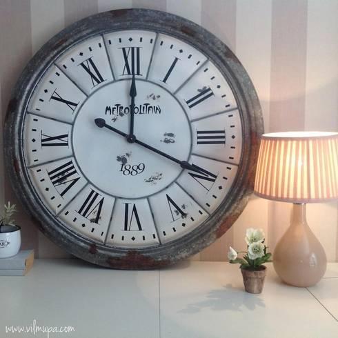 reloj estilo industrial de vilmupa homify