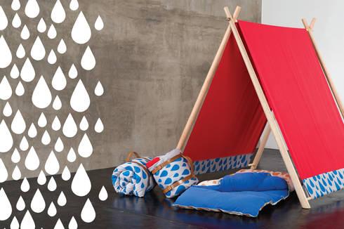 Kepot Día de excursión | Acampa & Bolsina: Dormitorios infantiles  de estilo  por Kepot