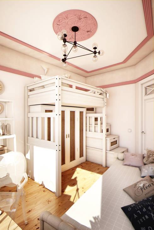 غرفة الاطفال تنفيذ Marina Sarkisyan