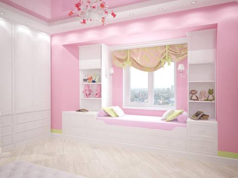 Дом: Детские комнаты в . Автор – Мастерская дизайна ЭГО