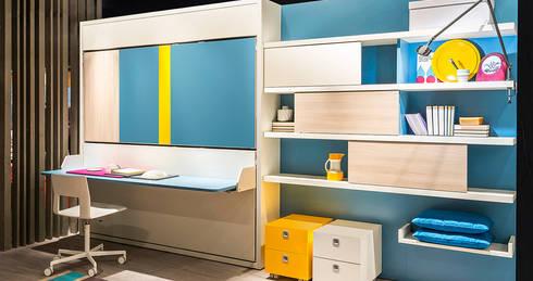 schrankbetten von homify. Black Bedroom Furniture Sets. Home Design Ideas