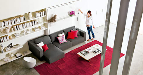 schrankbetten por homify. Black Bedroom Furniture Sets. Home Design Ideas