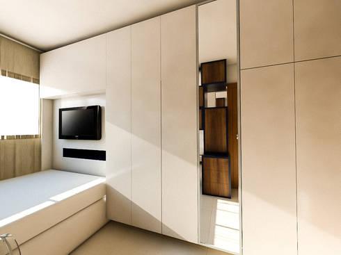 Apartamento LS: Quartos  por 285 arquitetura e urbanismo