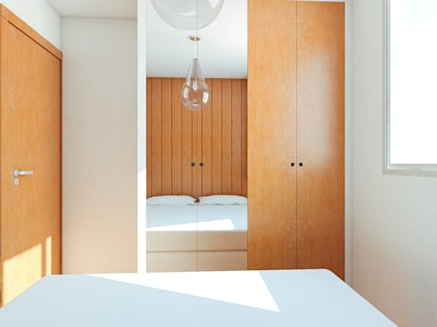 Apartamento AR: Quartos  por 285 arquitetura e urbanismo