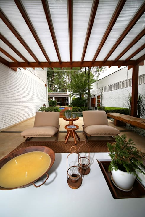 Patios by MeyerCortez arquitetura & design
