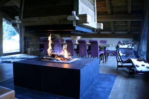 Chalet Chardon: conception, architecte d'intérieur et de liaison ...