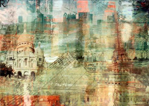 Parisian Delights:  Kunst  door Remco Vermaat