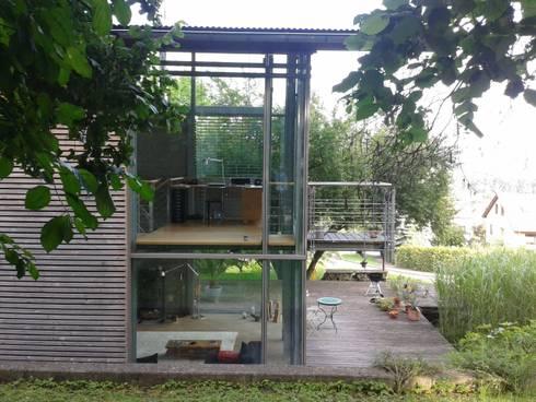 die leichtigkeit des seins von kaufmann freie architekten homify. Black Bedroom Furniture Sets. Home Design Ideas