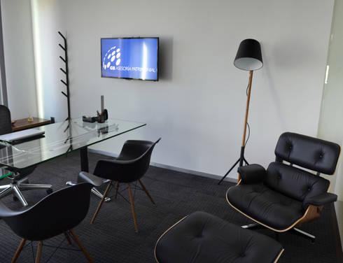 OFICINA GB: Oficinas y tiendas de estilo  por citylab Laboratorio de Arquitectura