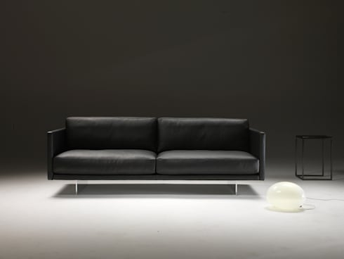 AIR : minimalistische Woonkamer door DCM Interior Design