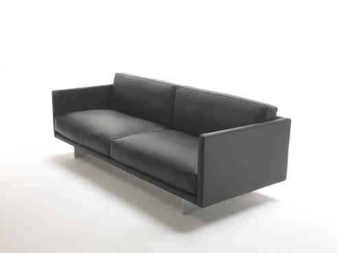 AIR: minimalistische Woonkamer door DCM Interior Design