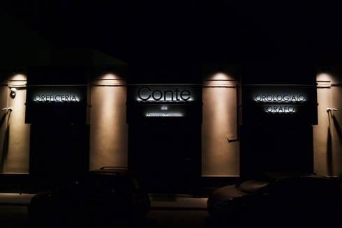Illuminazione esterna platek light per il progetto di