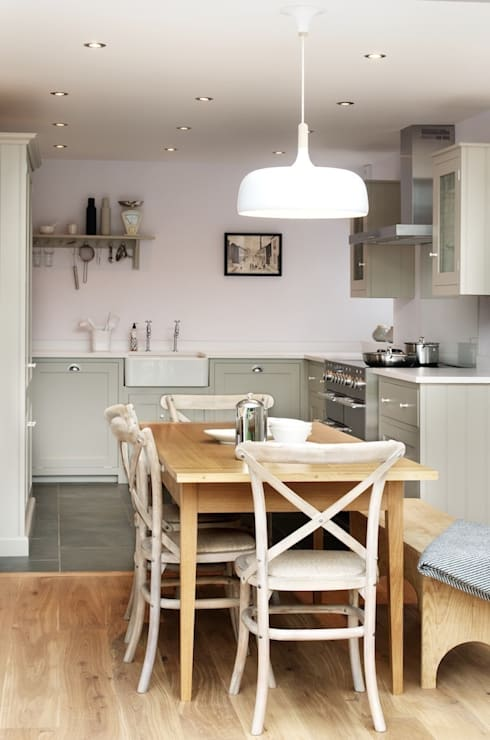 The Silverdale Shaker Kitchen by deVOL: modern Kitchen by deVOL Kitchens