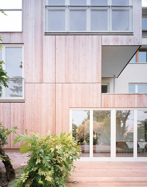 Haus S: minimalistische Häuser von urban matters UMnet