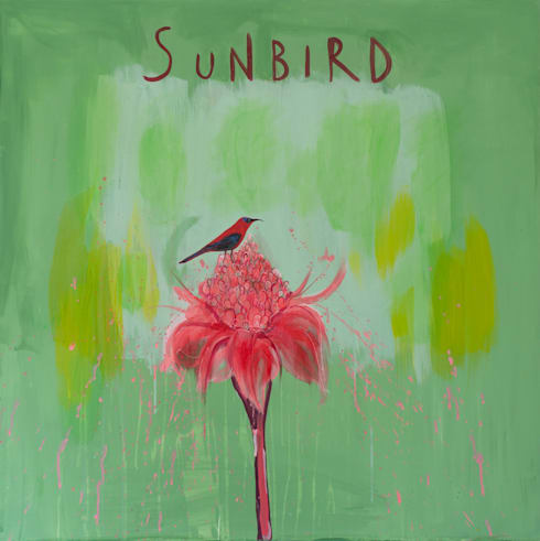 SUNBIRD:  Artwork by Clare Haxby Art Studio