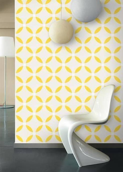 retrotapete von homify. Black Bedroom Furniture Sets. Home Design Ideas