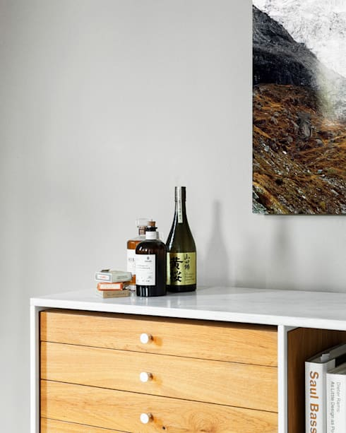 600 Credenza: moderne Woonkamer door Modiste Furniture