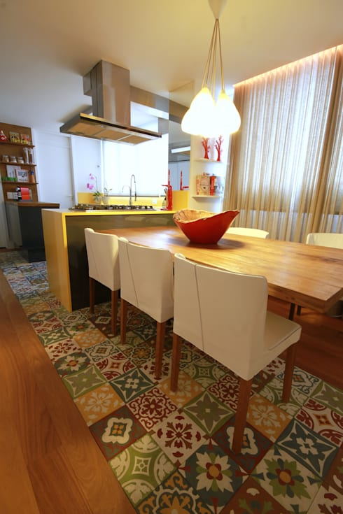 Morumbi: Cozinhas modernas por MeyerCortez arquitetura & design