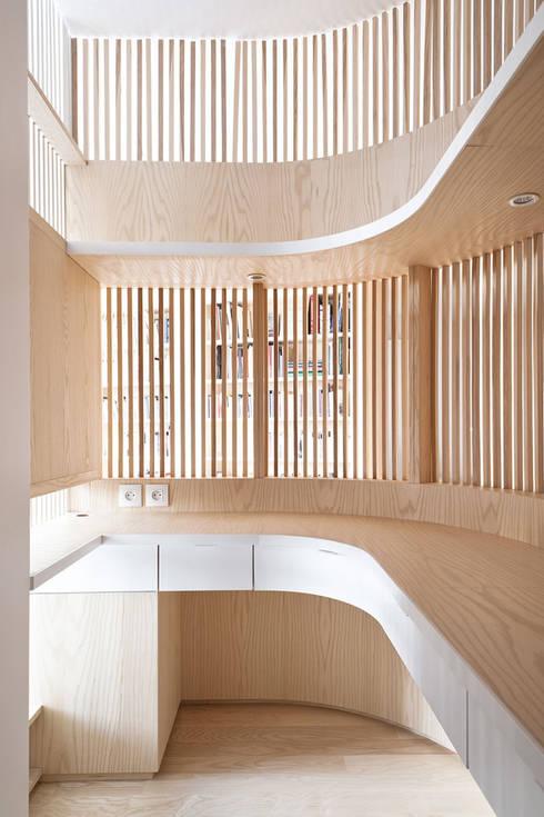 Phòng học/Văn phòng by Julien Joly Architecture