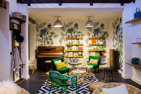 bureaux my little paris par h l ne de tassigny homify. Black Bedroom Furniture Sets. Home Design Ideas