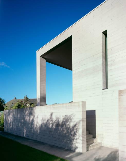 Aussenraum: minimalistische Häuser von PaulBretz Architectes