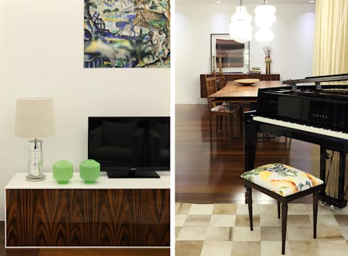 Casa Ideal 2012_Interiores: Salas multimédia coloniais por Tiago Patricio Rodrigues, Arquitectura e Interiores