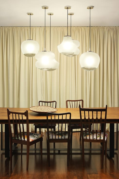 Casa Ideal 2012_Interiores: Salas de jantar coloniais por Tiago Patricio Rodrigues, Arquitectura e Interiores