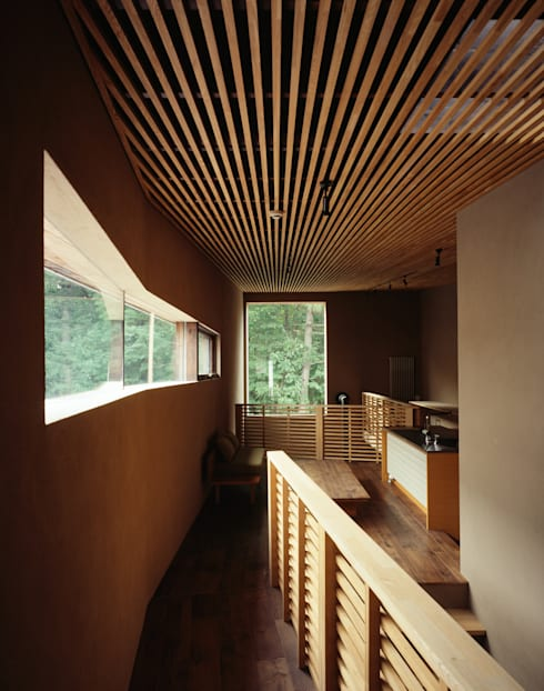 唐松: 合同会社永田大建築設計事務所が手掛けた玄関&廊下&階段です。