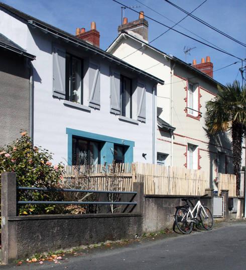 RÉNOVATION 80: Maisons de style  par PIERRE BRIAND ARCHITECTE