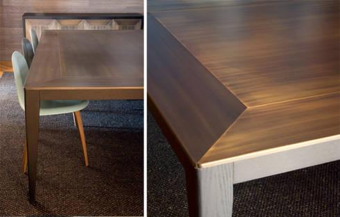 Detalles mobiliario: Salones de estilo ecléctico de DyD Interiorismo - Chelo Alcañíz
