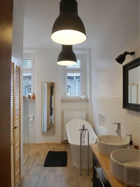 Łazienka retro: styl , w kategorii Łazienka zaprojektowany przez NaNovo