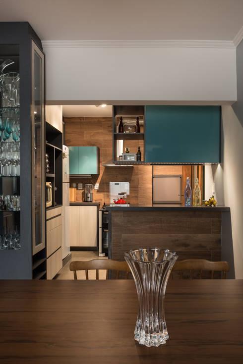 مطبخ تنفيذ Kali Arquitetura