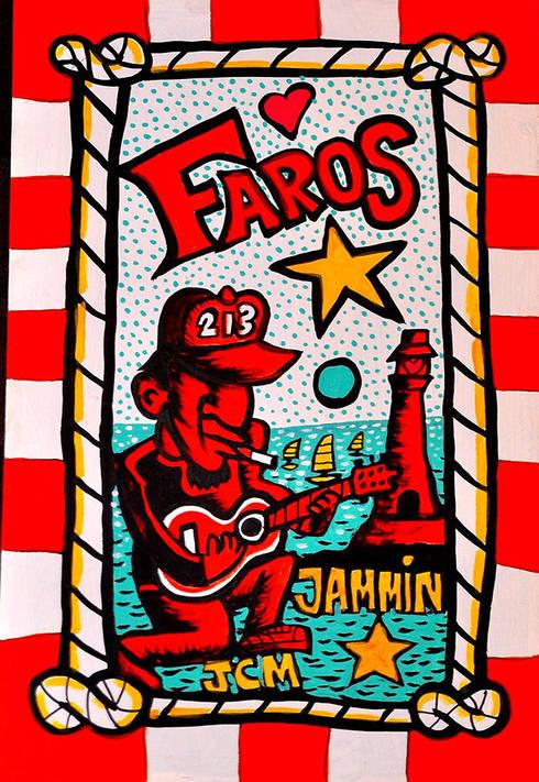 Faros Jamming: Arte de estilo  por Jimmy Carbo