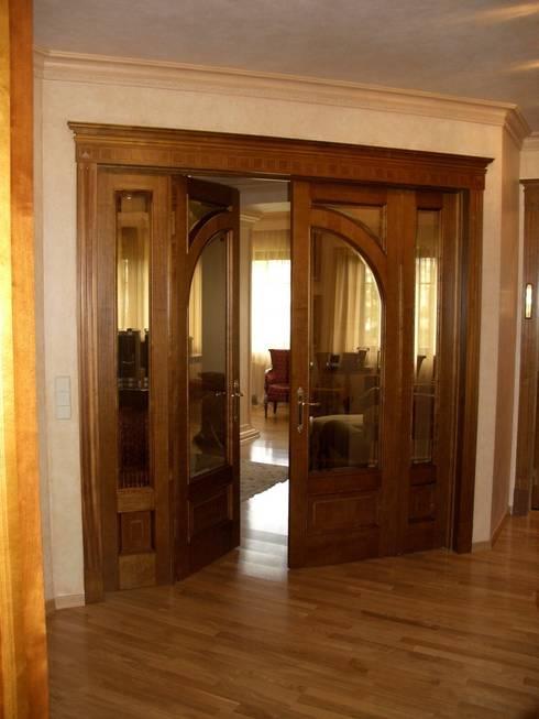 Двери массив: Окна и двери в . Автор – ООО 'Катэя+'