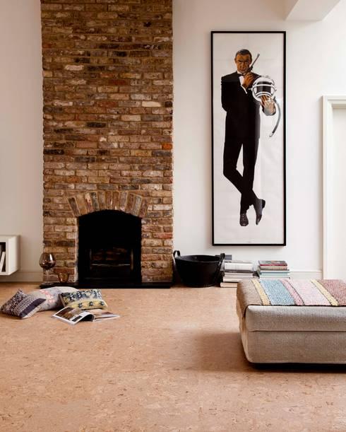Paredes y pisos de estilo  por Granorte