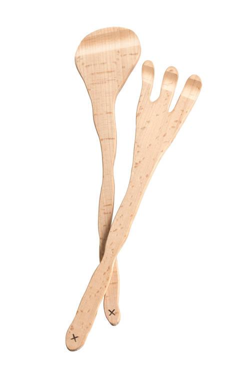 Slacouvert, twee delig vork-lepel: industriële Keuken door Design X Ambacht