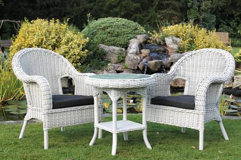 Hand woven rattan garden furniture by garden furniture - Garden center madrid ...